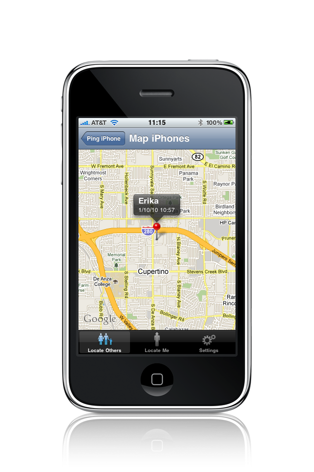 how to find an iphone with gps
